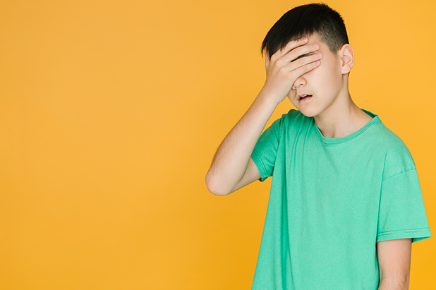 Content-Emotional teen
